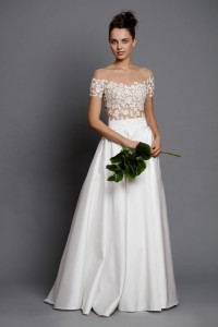 Wedding maxi skirt with pockets
