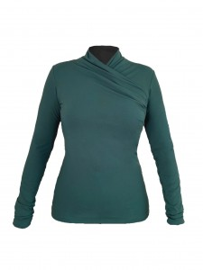 Turtleneck blouse  (1)