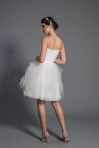 S104 Multi-layered short tulle skirt