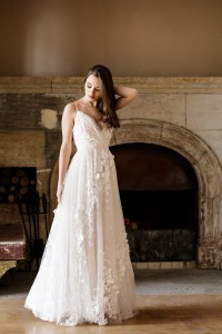 "Lace wedding dress ""Monika"""
