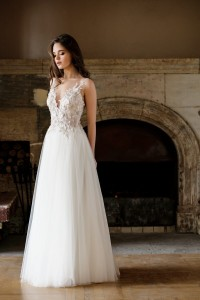 Wedding lace dress Paulina