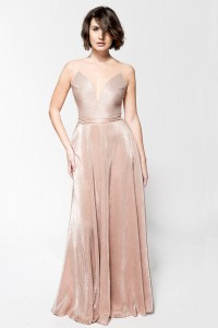 B116 body metaliczne - rose gold
